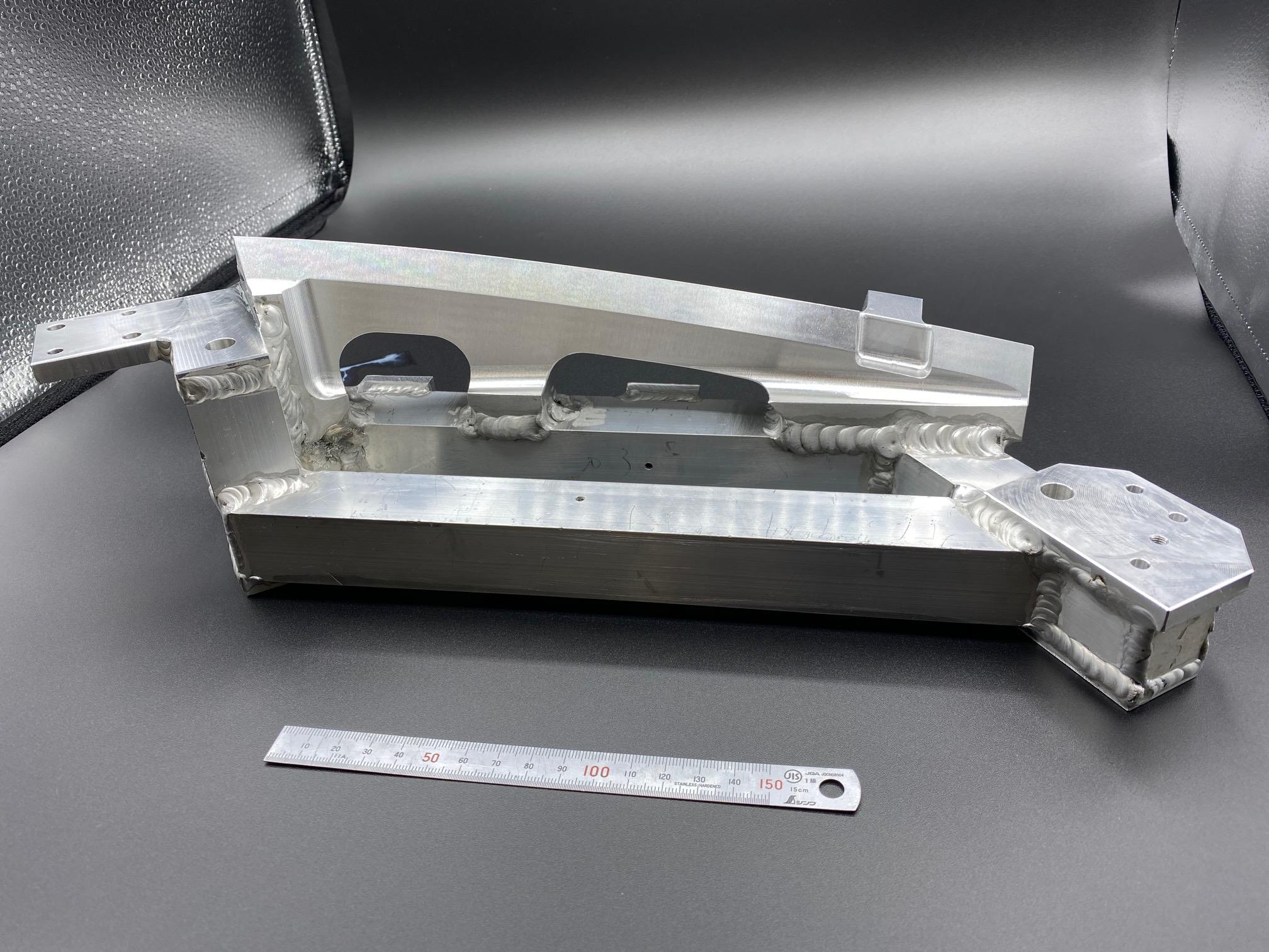 アルミ 溶接加工 3D切削加工